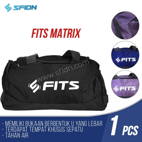 SfidnFits Matrix Tas Travel Gym Duffle Fitness Bag