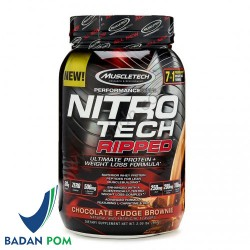 MUSCLETECH NITROTECH RIPPED 2 LBS