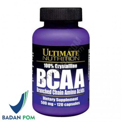 ULTIMATE NUTRITION BCAA 500MG 120 CAPS
