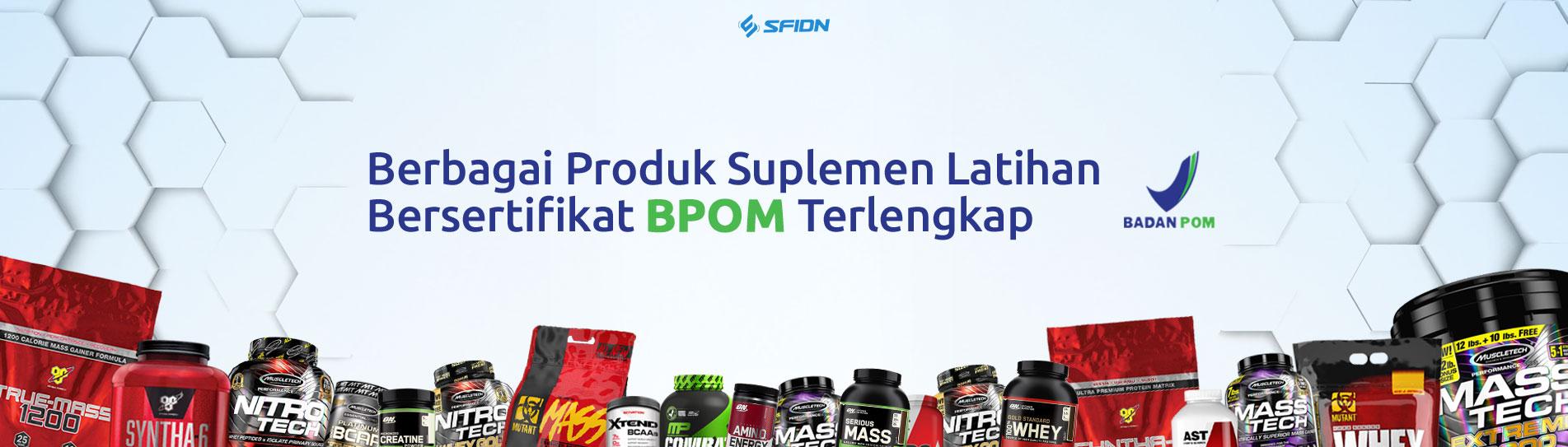 Produk BPOM hanya di SFIDN