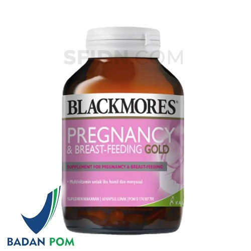 Blackmores Pregnancy and Breastfeeding Gold 60 Caps BPOM