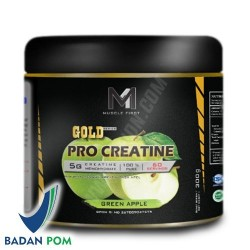 M1 MUSCLE FIRST PRO GOLD CREATINE MURNI 60 SERV