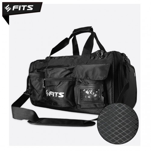 Tas Lipat Fitness Gym SFIDN FITS Foldable Bag Tas Travel Duffle