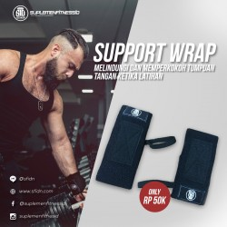 Sports Gym Stretchy Wrist Joint Brace Support Wrap Band