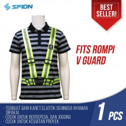 FITS Rompi Jaring V Guard Safety Vest Proyek