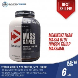DYMATIZE SUPER MASS GAINER 6 LBS NEW PACKAGING