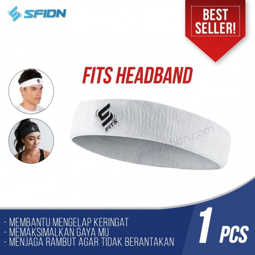 SFIDN FITS Headband / Head Band / Ikat Kepala Running Olahraga Gym
