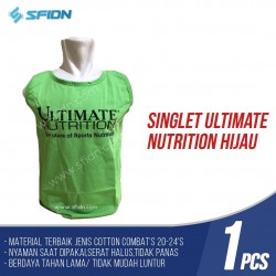 Singlet  Fitness / Gym ORIGINAL ULTIMATE NUTRITION HIJAU