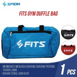 FITS Original Tas Gym Fitnes Olahraga Sport Travel - Slempang /HandBag