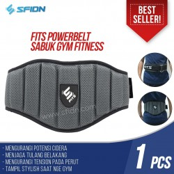 SFIDN FITS Powerbelt Sabuk Safety Gym Fitness