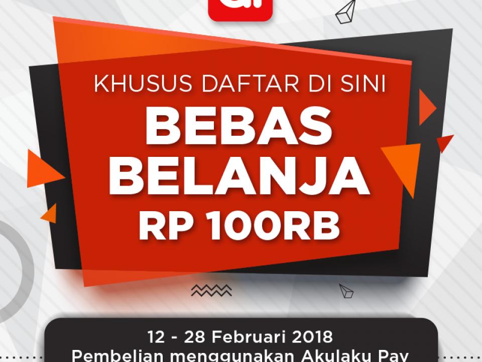 Promo Akulaku Payment 2018