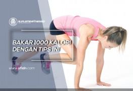 Tips Bakar 1000 kalori dalam sehari