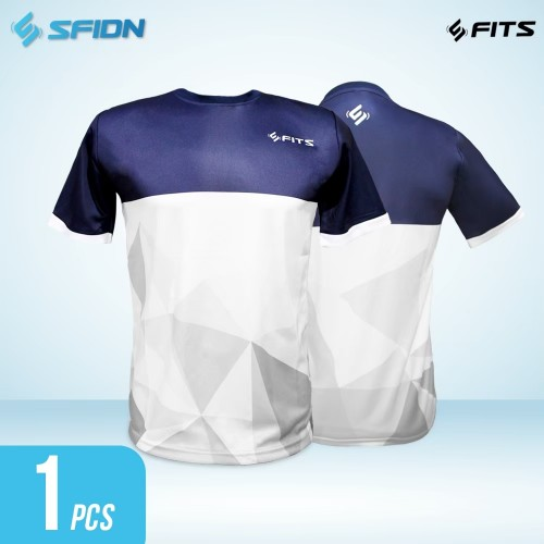 SFIDN FITS Threadmatrix Kaos Baju Fitnes Training Olahraga
