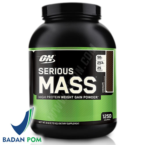 OPTIMUM NUTRITION SERIOUS MASS 6 LBS