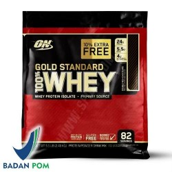 Optimum Nutrition On Whey Gold Standard 5.5 Lbs Extra Free