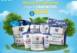 Promo Ronnie Coleman SFIDN September 2018