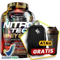 MUSCLETECH NITROTECH WHEY GOLD 5.5 LBS