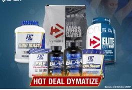 HOT DEAL DYMATIZE Oktober 2018 SFIDN