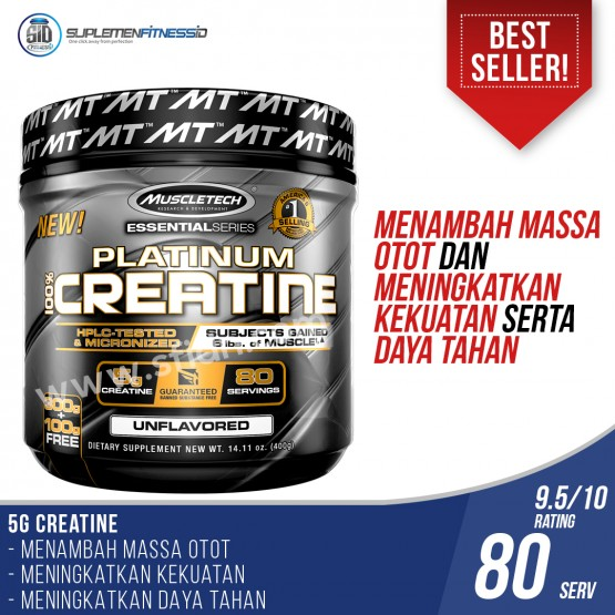 Muscletech Platinum Creatine - 400gr