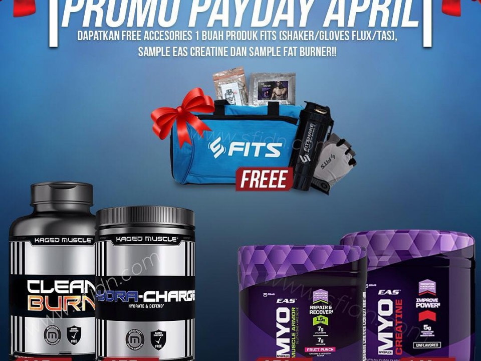 Promo Payday April 2018