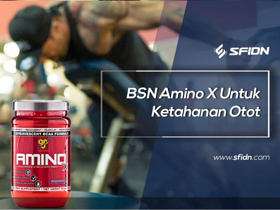 BSN Amino X Untuk Ketahanan Otot