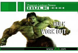 Program Latihan Fitness Hulk