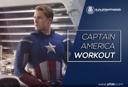 Program Latihan Fitness Captain America