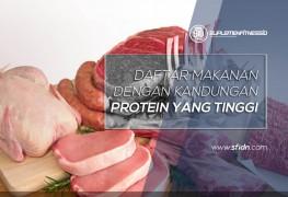 Daftar makanan berprotein tinggi