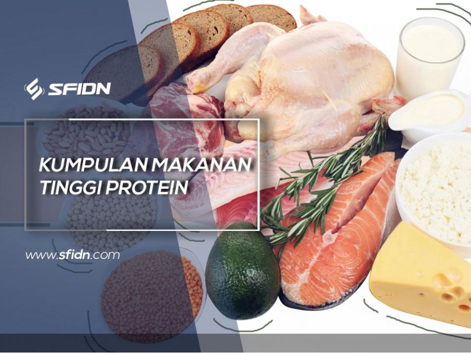 Kumpulan Makanan Tinggi Protein