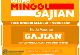 PROMO MINGGU GAJIAN Free Ongkir SFIDN