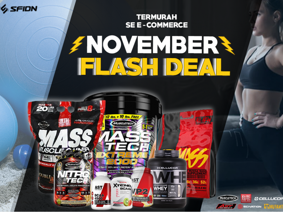 NOVEMBER FLASH DEAL