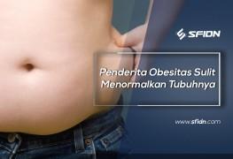 Penderita Obesitas Sulit Menormalkan Tubuhnya