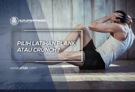 Pilih Plank atau Crunch