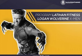Program Latihan Fitnes Logan Wolverine X-men