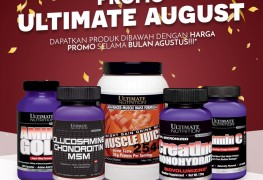 Promo Ultimate Nutrition Agustus 2017