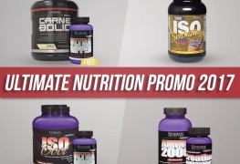 Promo Ultimate Nutrition April 2017 SFIDN