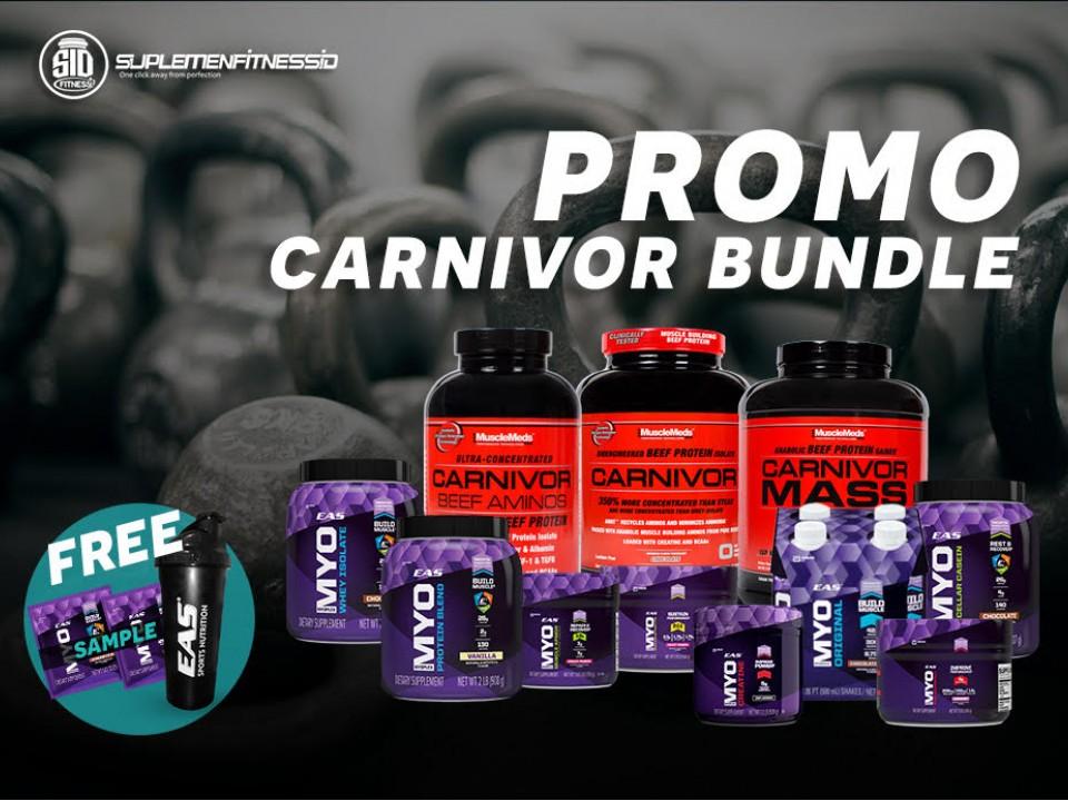 Promo Carnivor Bundle Mei 2017