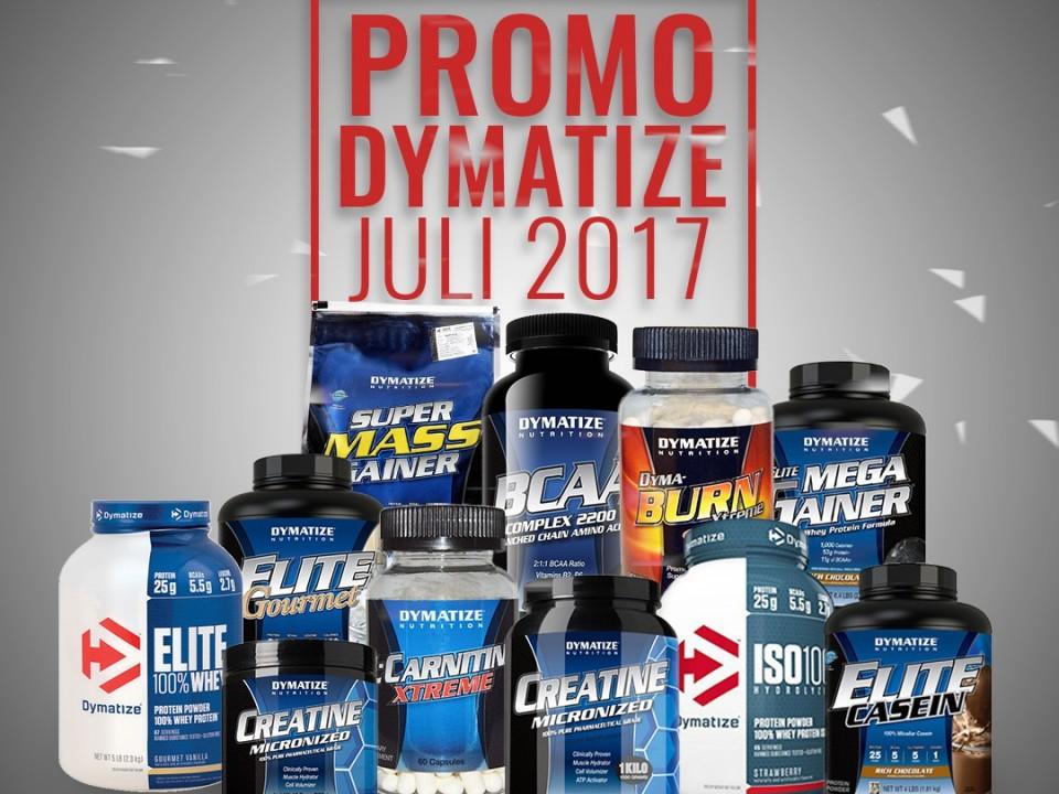 Promo Dymatize Juli 2017