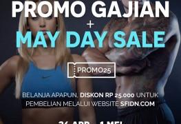 Promo Gajian dan Mayday  Sale SFIDN 2017