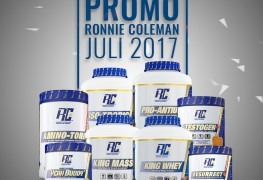 Promo Ronnie Coleman Juli 2017