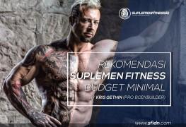 Rekomendasi suplemen fitnes budget minimal