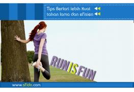 Tips Berlari Lebih Kuat Lama dan Efisien