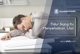 Tidur Siang Itu Menyehatkan, Lho!