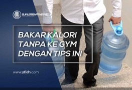 Tips Bakar Kalori tanpa Ke Gym