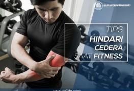 Tips terbaik hindari cedera saat fitness