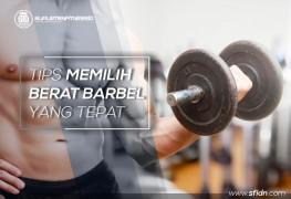Tips memilih barbel fitness yang tepat