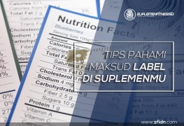 Tips memahami label suplemen fitness