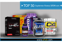 TOP 50 Suplemen Fitness Terpopuler SFIDN